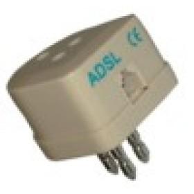 Filtro ADSL con SPINA ITALIANA a 3 CONTATTI + PLUG ADSL