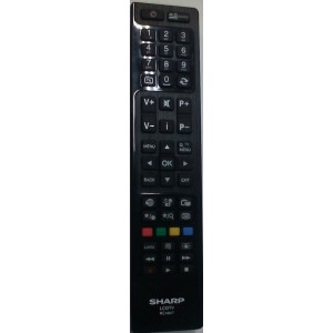 TELECOMANDO ORIGINALE SHARP LCD TV RC 4847 = RC4846