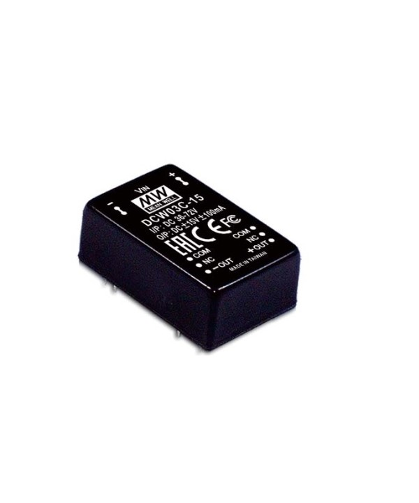 DCW03A-15 Alimentatore Switching / Power Supply Mean Well