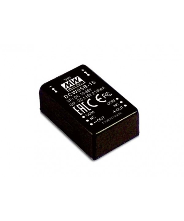 DCW05A-12 Alimentatore Switching / Power Supply Mean Well