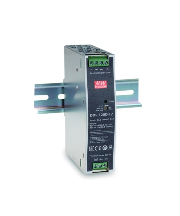 DDR-120D-24 Alimentatore Switching / Power Supply Mean Well