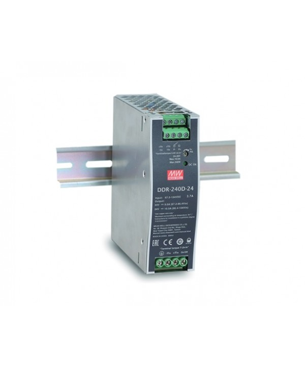 DDR-240B-24 Alimentatore Switching / Power Supply Mean Well