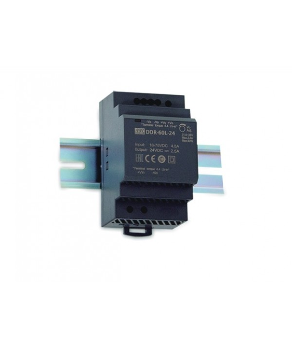 DDR-60L-24 Alimentatore Switching / Power Supply Mean Well