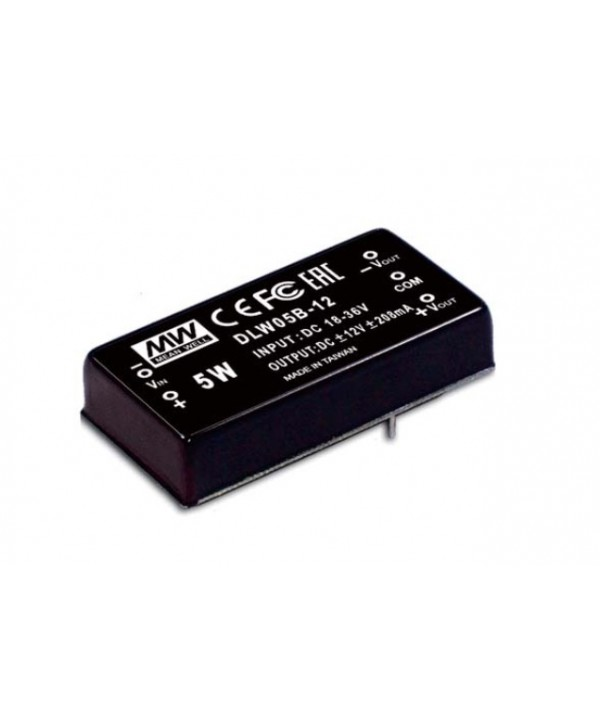 DLW05A-12 Alimentatore Switching / Power Supply Mean Well
