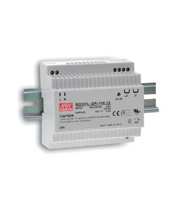 DR-100-12 Alimentatore Switching / Power Supply Mean Well