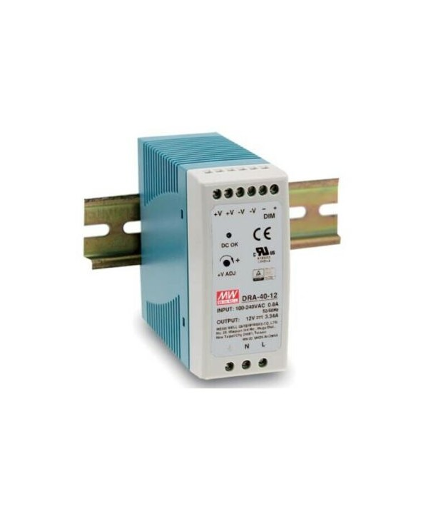 DRA-40-12 Alimentatore Switching / Power Supply Mean Well