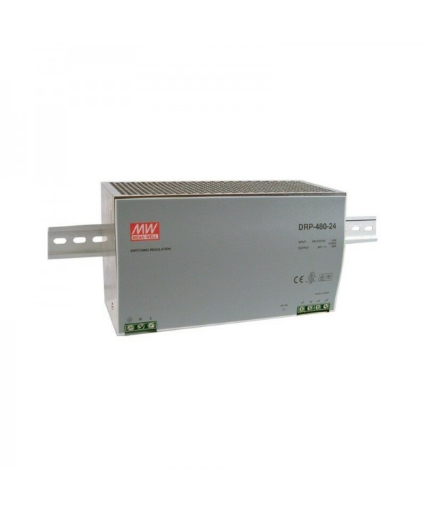 DRP-480-24 Alimentatore Switching / Power Supply Mean Well