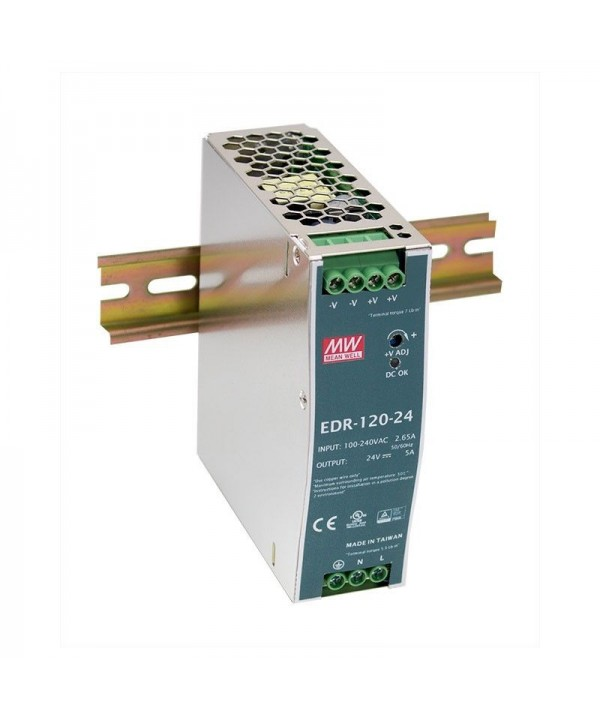 EDR-120-24 Alimentatore Switching / Power Supply Mean Well