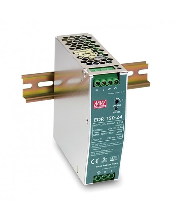 EDR-150-24 Alimentatore Switching / Power Supply Mean Well