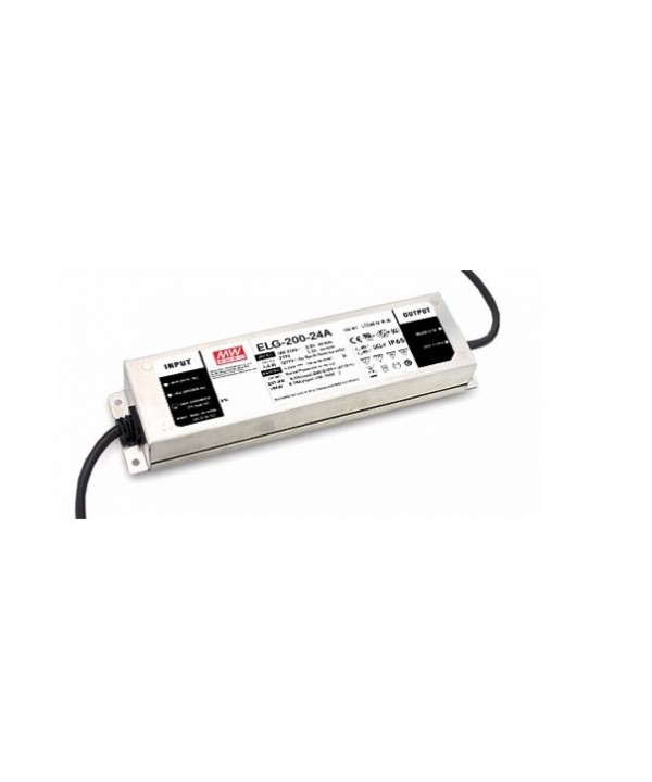 ELG-200-24A-3Y Alimentatore Switching / Power Supply Mean Well