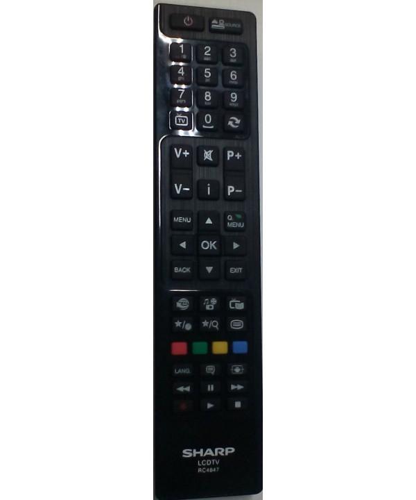 TELECOMANDO ORIGINALE SHARP LCD TV RC 4847 = RC4846